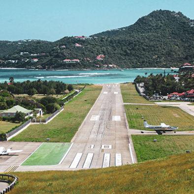 Destination Saint-Barth : Aéroport