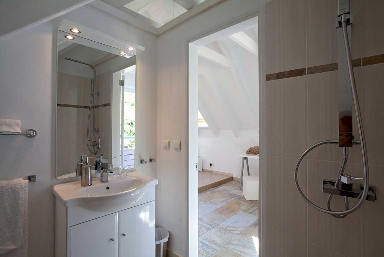Villa La Roche dans l'Eau : Master Bedroom - Bathroom