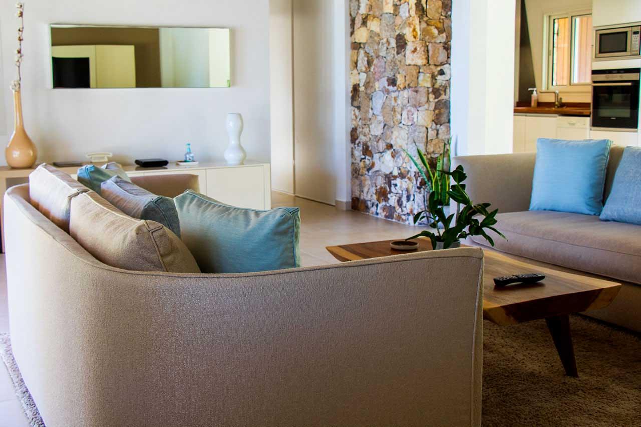 Villa La Roche dans l'Eau : Living Room